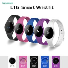 Bluetooth 4 0 font b Smartwatch b font Ultra thin Touchscreen OLED Activity Sleep Tracking Waterproof