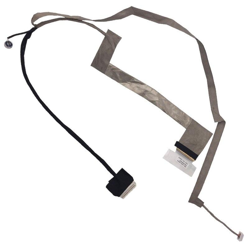 New Laptop Cable For ASUS K52 K52F K52JR K52n A52 A52F A52JB A52j LED with mic 1422-00NP0AS DD0KJ3LC000 Notebook LCD LVDS CABLE  new laptop cable for asus k52 k52d k52j k52f k52n k52jr a52n a52j x52 x52f lcd with mic version 1 pn 1422 00rl000