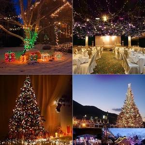Image 5 - 10M 20M 30M 50M 100M 24V Veilige Spanning Groene Kabel LED String lights Kerst fairy Lights voor Xmas Bomen Party Bruiloft Evenementen