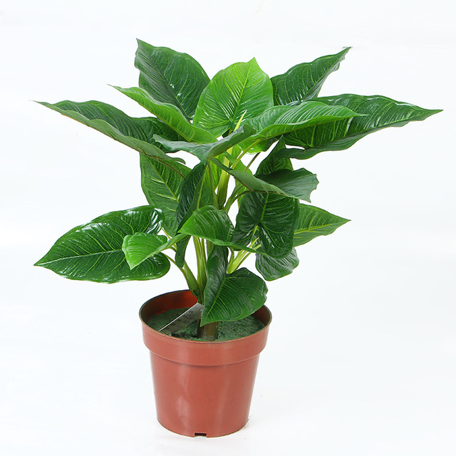 free shipping(2pcs/lot)calla & monstera, artificial tree,artificial Artificial Plants and Trees Indoor