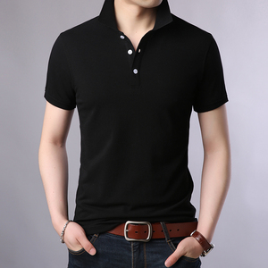 Image 5 - 2020 New Fashion Brands Polo Shirt Mens 100% Cotton Summer Slim Fit Short Sleeve Solid Color Boys Polos Casual Mens Clothing