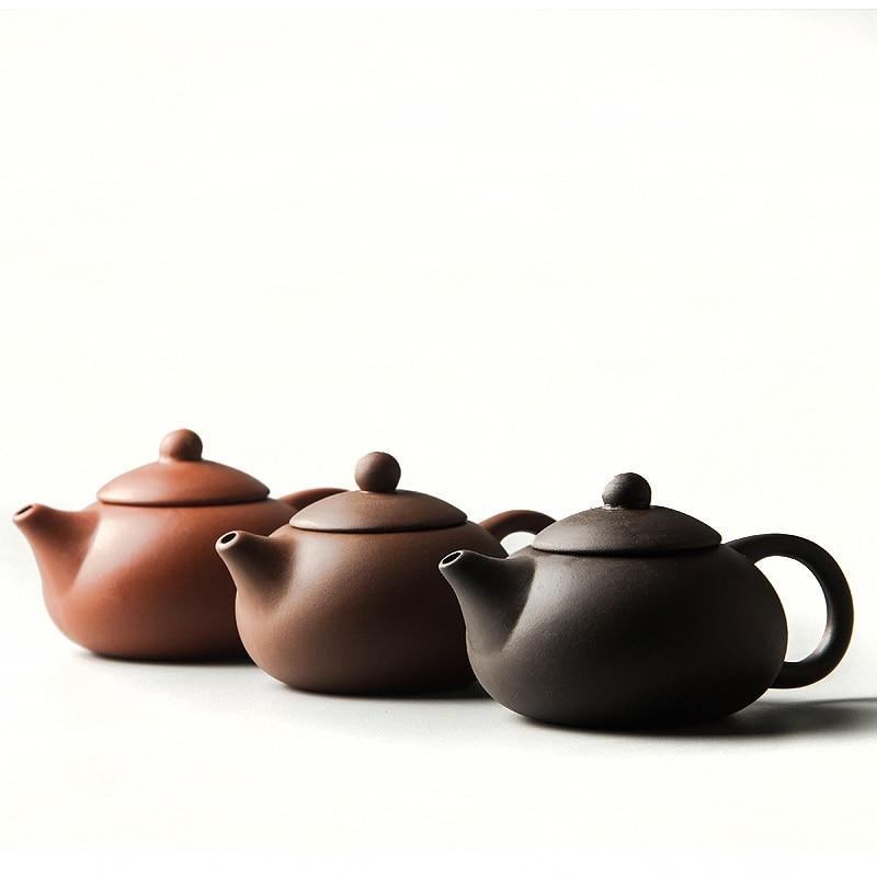 Çin Mor kum Çay potu Çin Kung Fu Çay bardağı Su Isıtıcısı kil Çay setleri D011