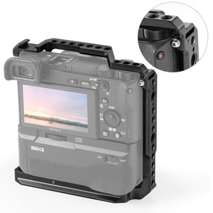 Image 4 - SmallRig A6400 Gabbia DSLR Cage Fotocamera per Sony A6000/A6300/A6400/A6500 con Meike MK A6300/A6500 battery Grip 2268