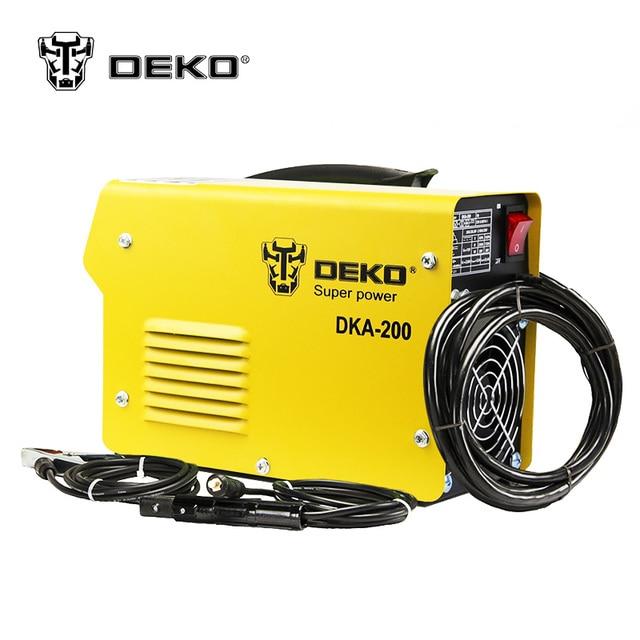 DEKOPRO DKA-120 800W 120A 21S IP AC Arc Electric Welding Machine MMA Welder for Welding Working and Electric Working