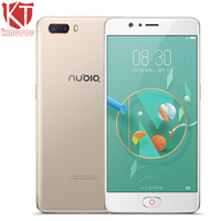 KT Original ZTE Nubia M2 Mobile Phone 4G RAM 64GB ROM Snapdragon 625 5 5 1080P