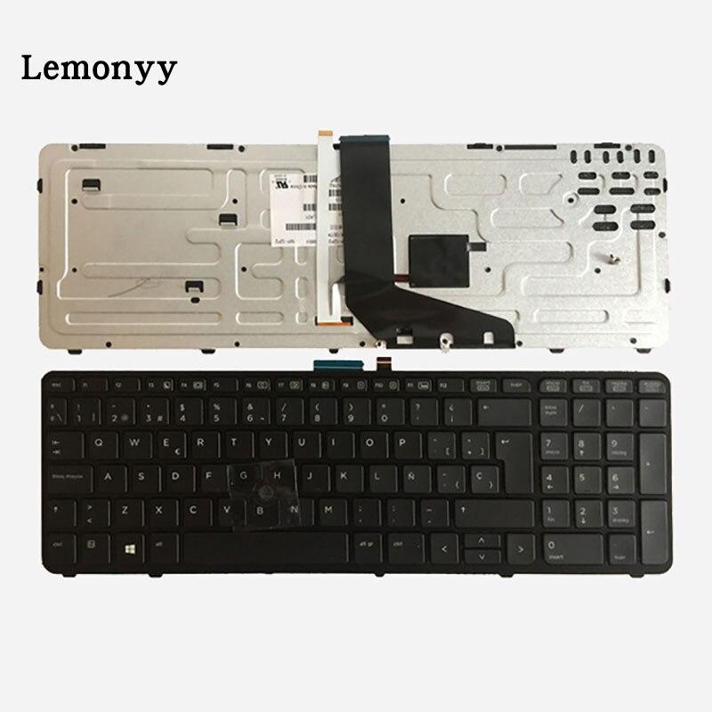 NEW Spanish Laptop Keyboard for HP Zbook 15 Zbook 17 733688-171 SP black Layout Backlit MP-12P26SAJ698W PK130TK2A22 laptop keyboard for hp for elitebook revolve 810 series black with sliver frame and backlit sp sn8123bl sg 57700 2ea