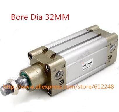 Cylindre pneumatique Standard DNC32 * 400 de cylindre dair de DNCCylindre pneumatique Standard DNC32 * 400 de cylindre dair de DNC