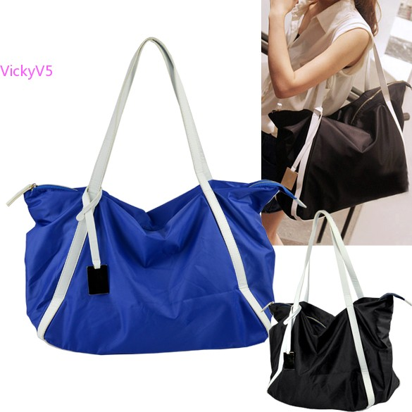 Fashion Extra Large Tote Bag Women Messenger Bags Casual Nylon Las Shoulder Beach B14 In From Luggage On