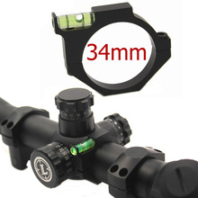 34mm Ring Aluminium Bubble Level för Mount Scope Laser Sight Rifle Gun Airgun - ny