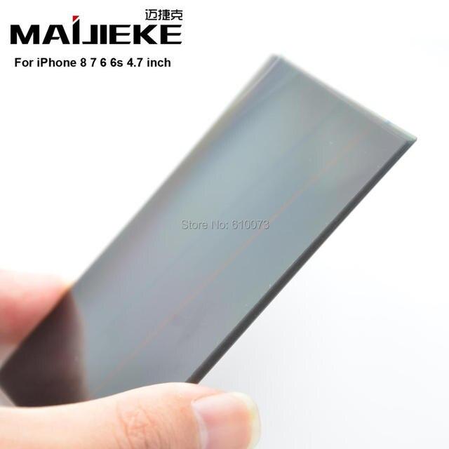 MAIJIEKE S para 6 s LCD filtro polarizador película para iPhone 6 4,7  polarizador b14486254b