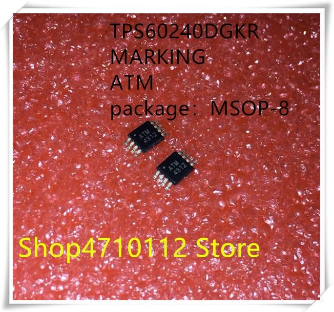 NEW 10PCS LOT TPS60240DGKR TPS60240 MARKING ATM MSOP 8 IC