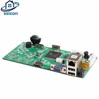 SSICON H.265 5MP 16Ch NVR доска нескольких языков HDMI VGA Видео Выход 5MP видеонаблюдения Видео Регистраторы 4 К CCTV NVR XMEYE APP