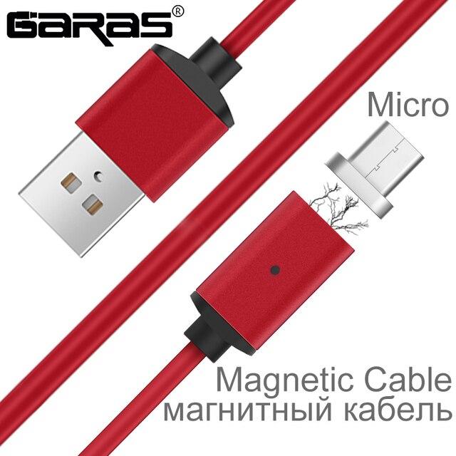 GARAS (eiffel tower) 자기 Cable Micro USB 대 한 안드로이드 Mobile Phone Fast Charging 자석 Micro 어댑터 대 한 미 테크의/Samsung Micro USB 케이블 s