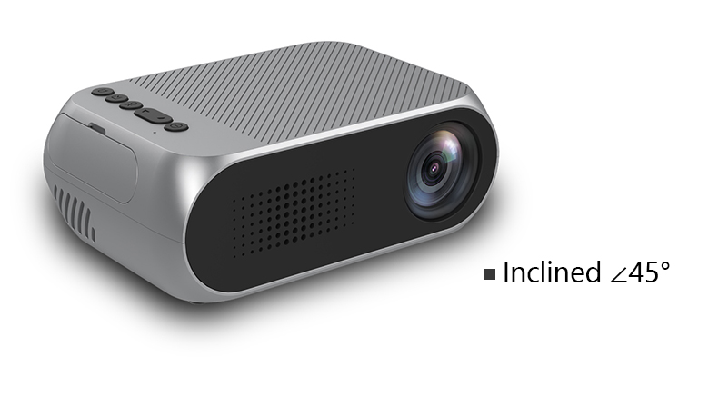 Excelvan YG320 Mini Projector Led Proyector Projetor 500LM Audio HDMI USB Mini YG-320 Projetor Home Theater Media Player Beamer (16)