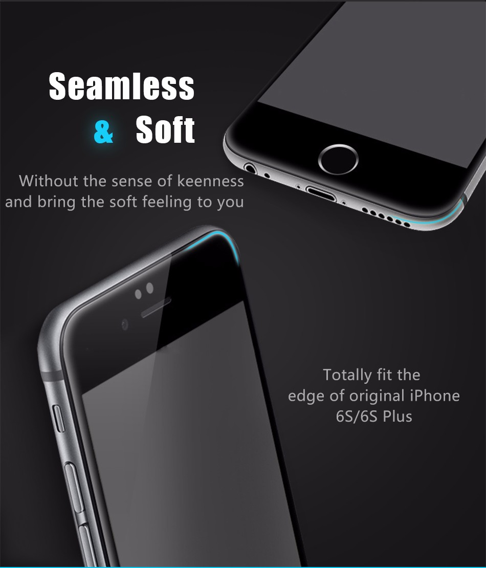 Temper glass screen protector for iphone 6 6s plus (11)