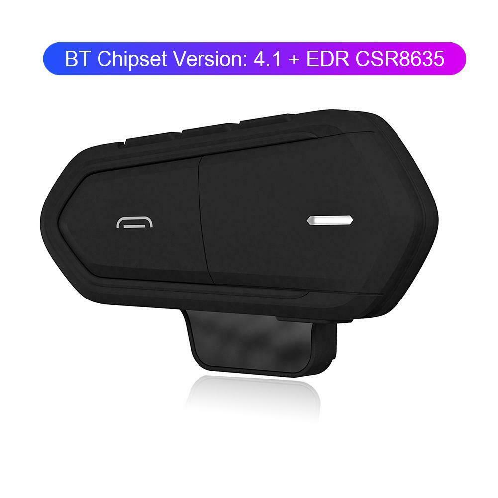 Motorcycle Helmet Headsets Wireless Bluetooth Handsfree Earphone Headphone Waterproof FM Radio Motorcycle Headset