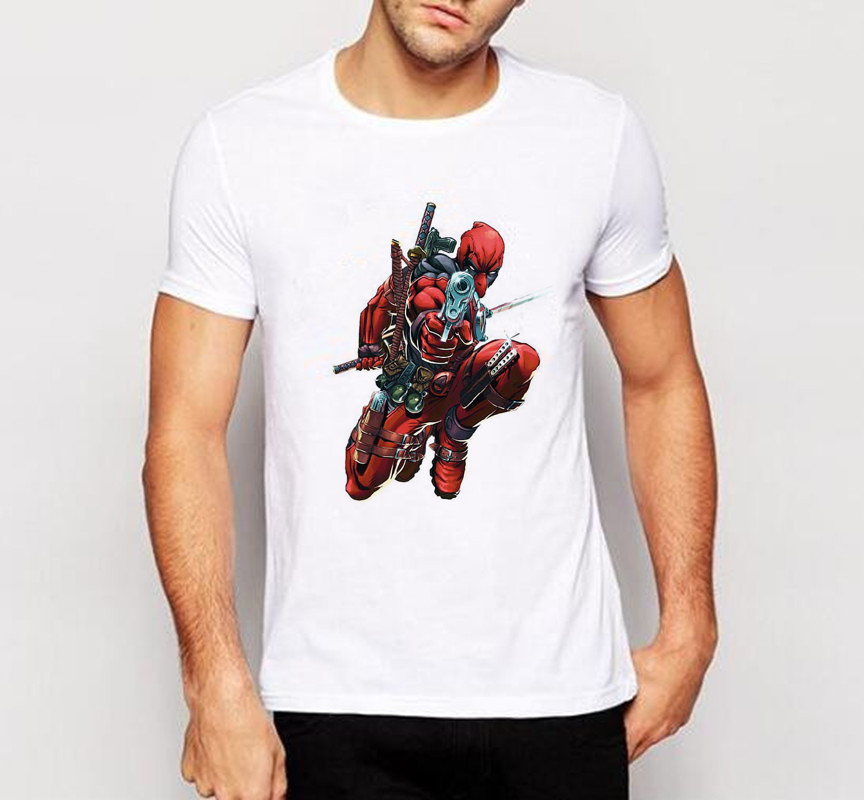 ALI shop ...  ... 32691836188 ... 5 ... Men t shirt New Arrive American Comic Badass Deadpool T-Shirt Tees Men Cartoon 3d t shirt Funny Casual tee shirts tops W-136# ...