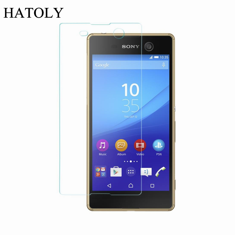 For Sony Xperia M5 Glass Ultra Thin Protective Film HD Screen Protector for Sony Xperia M5 Tempered Glass for Sony M5 E5663