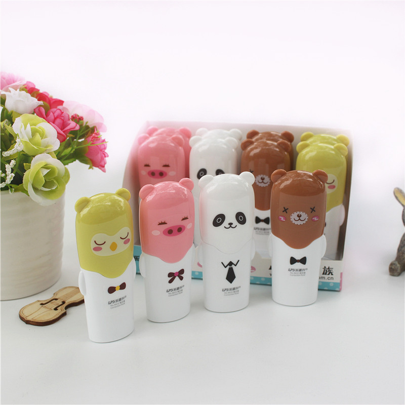 Cute Kawaii Correction Fluid Animal Cartoon Learning Stationery Kids Gift Office And Student Writing Corrections