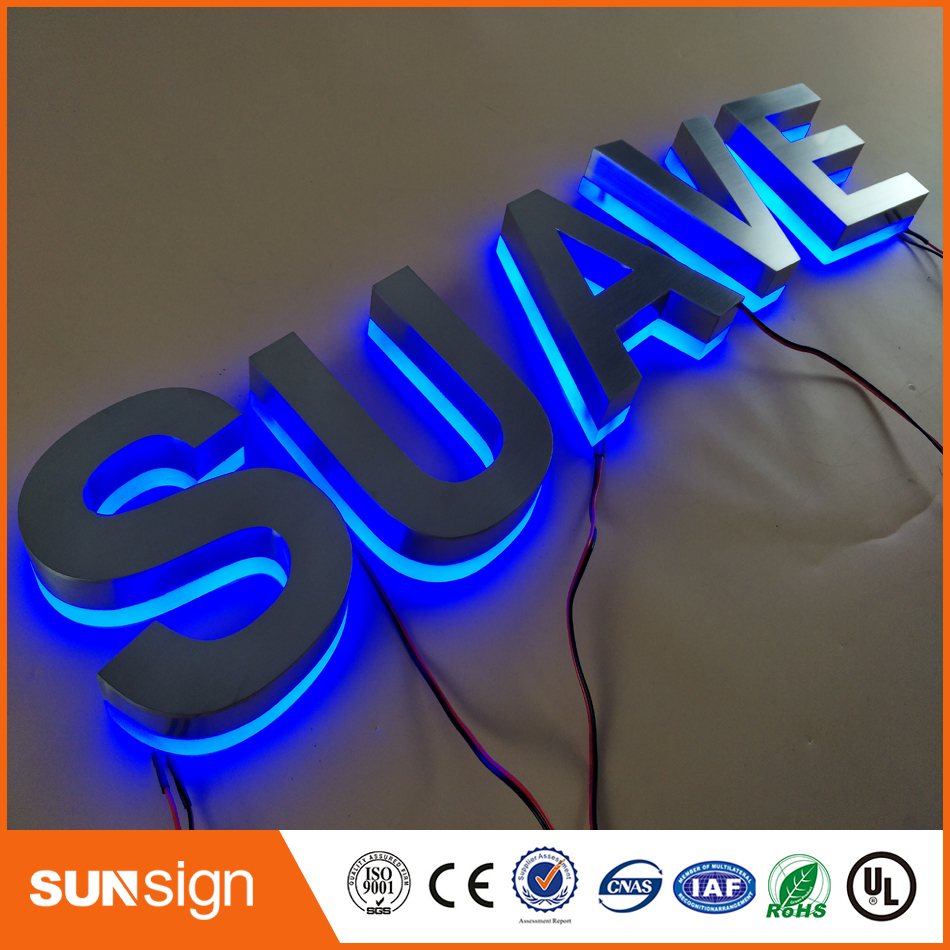 Hot Sale Diy Led Backlit Channel Letter Backlit Signs