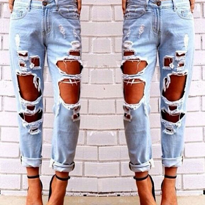 Popular Big Ripped Jeans-Buy Cheap Big Ripped Jeans lots from