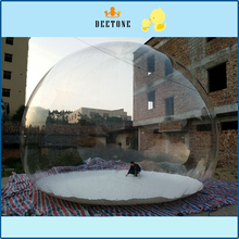 Commercial inflatable bubble ball advertising transparent display 8 meters PVC exhibition