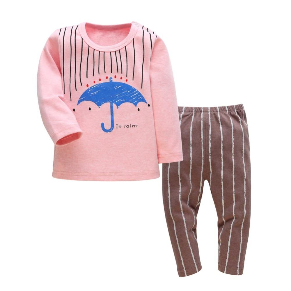 e50fedf20ecd ჱBabies Clothing Set 2016 Spring Autumn Umbrella Style Cotton ...