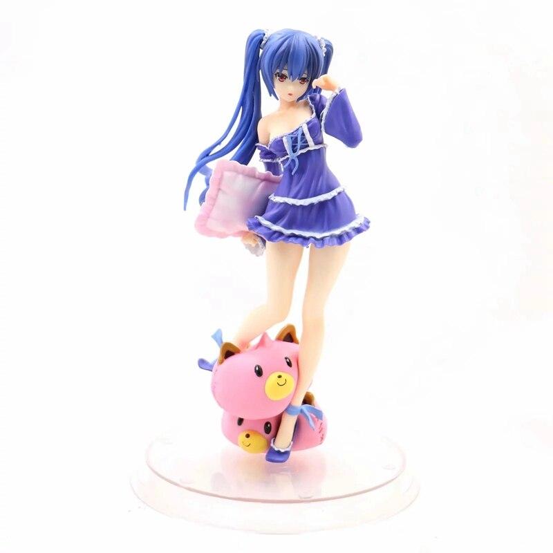 Hyperdimension Neptunia noir coeur Noire pyjamas Dakimakura Anime figurines modèle jouets Sexy Figure plantureuse Lolita filles