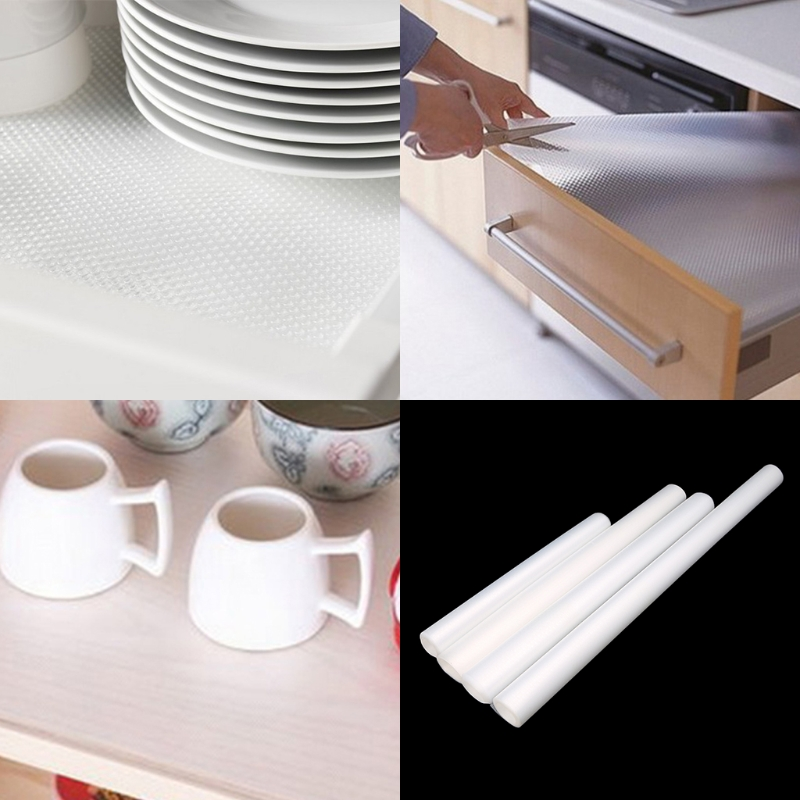 Kitchen Cabinet Mats: Clear Drawer Liner Kitchen Cupboard Mat Cabinet Table