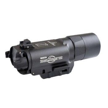 WIPSON Tactical X300 X300U Flashlight Waterproof Weapon Light Pistol Gun Lanterna Rifle Picatinny Weaver Mount For Hunting 4