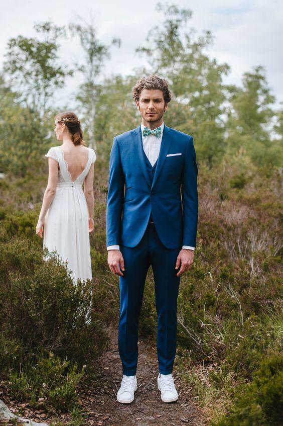 2017 Latest Coat Pant Designs Navy Blue Wedding Suits Tuxedo Slim Fit 3 Piece Men Suit Custom Groom Prom Blazer Terno Masculino
