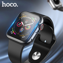 HOCO Ultra-thin Colorful Plating TPU cover for Apple Watch 5 case 44mm 40mm Silicone Soft Case for Iwatch Series 5 4 Case стоимость
