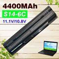 4400 mAh bateria Para MSI BTY-S14 BTY-S15 CR650 CX650 FR400 FR700 FR610 FR620 FR600 FR700 GE60 GE70 FX400 FX420 FX600 FX603 FX610