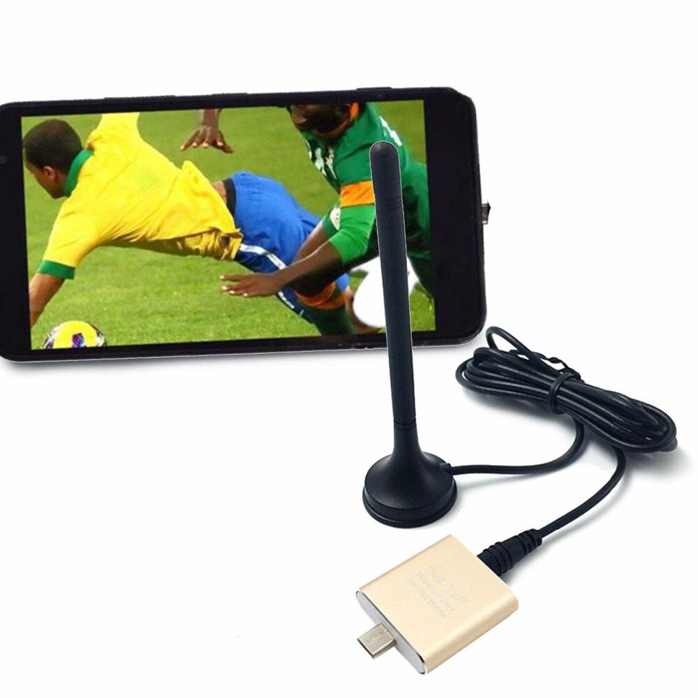DVB-T2/T TV Receptor de Satélite Digital Dongle Vara TV USB Sintonizador de TV para Android 4.1 Suporte MPEG-2 e MPEG-4 /H.264 Vídeo