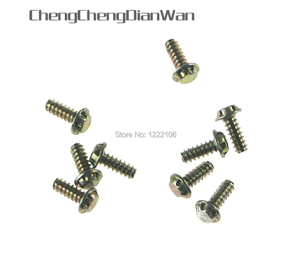 Chengchengdianwan 3.8mm parafusos de segurança para nes snes nintendo 64 n64 gb gameboy cartuchos torx parafuso substituição