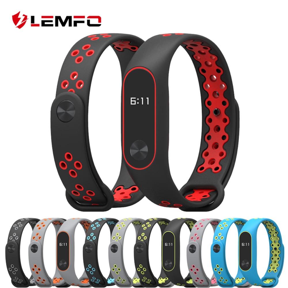 LEMFO Smart-Band-Accessories Mi-Band 2-Bracelet Xiaomi Women Original Silicone-Strap