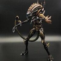 8Inch Predator VS Alien The 13th Lineup Queen Facehugger Action Figure Model NECA