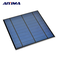 AIYIMA 5V 4.5W Epoxy Solar Panel Photovoltaic Panel Polycrystalline Solar Cell for Mini Sun Power Energy Module DIY Solar Sistem