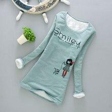 Fashion thermal underwear cashmere warm shirts