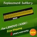 Jigu 5200 mah batería para lenovo thinkpad x200 x200s x201 x201s 42t4834 42t4835 43r9254 asm 42t4537 42t4536 fru 42t4538