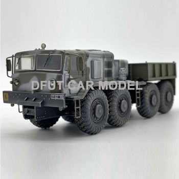 1:72 Alloy Pull Back Toy Vehicles Russia KZKT-537L Truck Series Car Model Of Children's Toy Cars Original Authorized Authentic