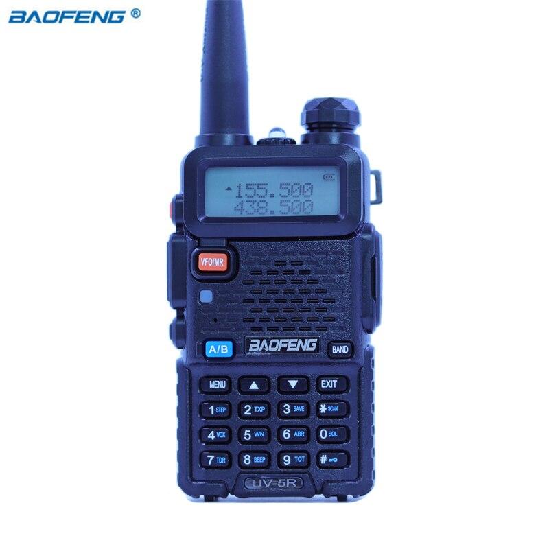 Baofeng UV-5R Walkie Talkie CB HAM Radio Dual Band VOX 2 Way Portable Transceiver VHF UHF FM BF UV 5R Radios PPT Handheld Stereo