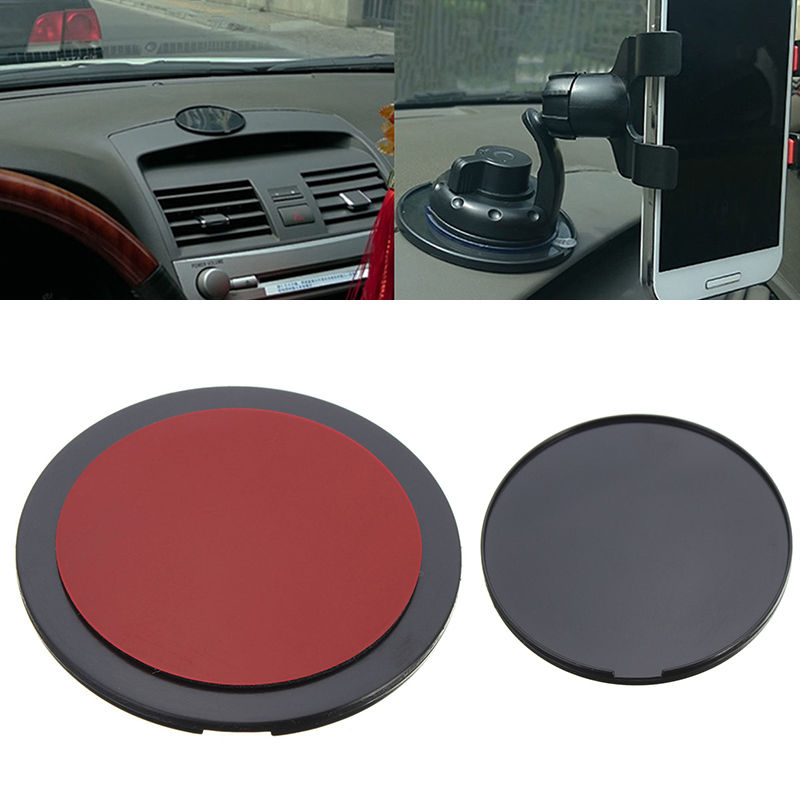 Hot Sell Mount Car Holder GPS Adhesive Sticky Dashboard Suction Cup Disc Disk Sticky Pad Anti-Slip Mat