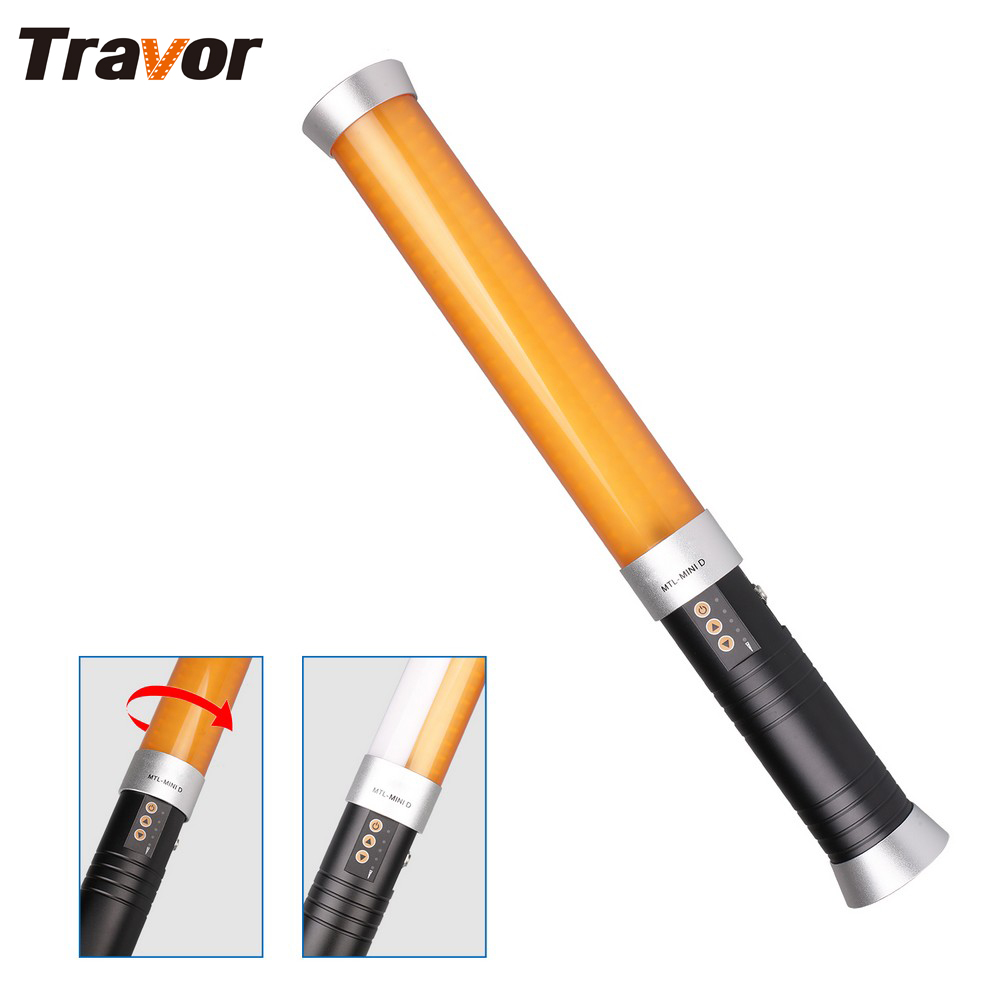 Travor MTL-MINID Portable 160 LED Video Light Magic Wand Tube work with sony NP-F550 as icelight for photography lighting