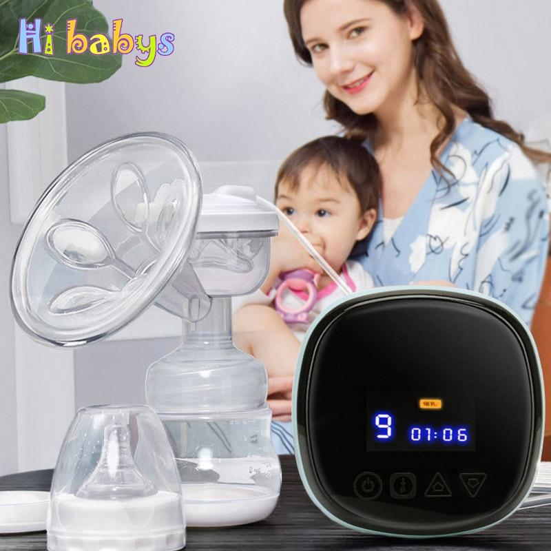 Smart Electric Breast Pump Comfort Portable Breast Pump 3 Models Low Power Baby Breastfeeding Parturient Nursing Appliances