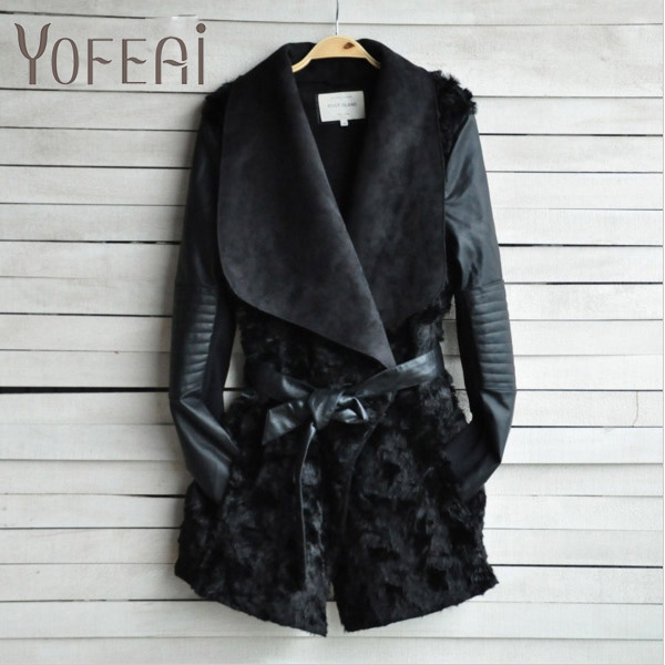Online Buy Wholesale fur coat leather sleeves from China fur coat