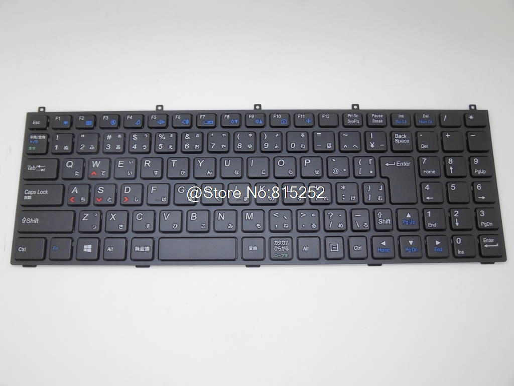 Laptop Keyboard For CLEVO M9800 MP-08J40J0-43001W MP-08J46K0-4304W MP-08J4600-430W MP-08J46D0-430 Japan/Korea/Portugal/Germany laptop keyboard for pegatron japanese jp mp 13a80j065827 0kn0 cn6jp12