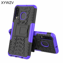 For Samsung Galaxy A30 Case Shockproof Cover Armor Soft Silicone Hard PC Holder Fundas Phone Back