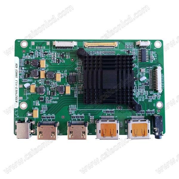Risoluzione di 4 K LCD supporto scheda di controllo 4 K UHD pannello LCD con eDP. Il segnale di ingresso supporto + 2 HDMI + 2DPRisoluzione di 4 K LCD supporto scheda di controllo 4 K UHD pannello LCD con eDP. Il segnale di ingresso supporto + 2 HDMI + 2DP