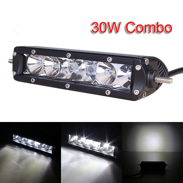 Online shop 7inch 30w with cree led chips led light bar combo online shop 7inch 30w with cree led chips led light bar combo offroad light 12v 24v for truck tractor trailer hunting work light aliexpress mobile mozeypictures Gallery